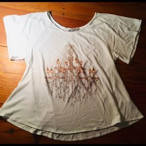 WILDFOX Chandelier Tee